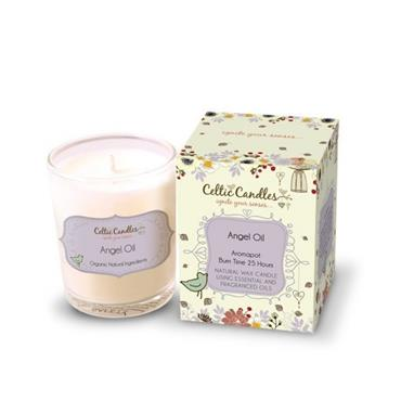 CELTIC CANDLE CELTIC CANDLE ANGEL OIL AROMAPOT SMALL