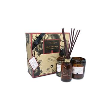 CELTIC CANDLES CELTIC CANDLES REJUVENATE ORGANIC POMEGRANATE & SPICY PLUM GIFTSET