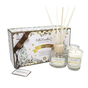 CELTIC CANDLE CELTIC CANDLE WINTER SPICE GIFTSET