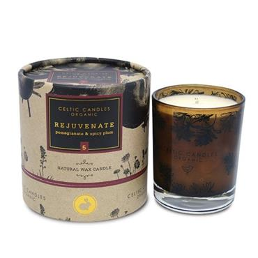 CELTIC CANDLE REJUVANATE BOXED TUMBLER NATURAL WAX CANDLE