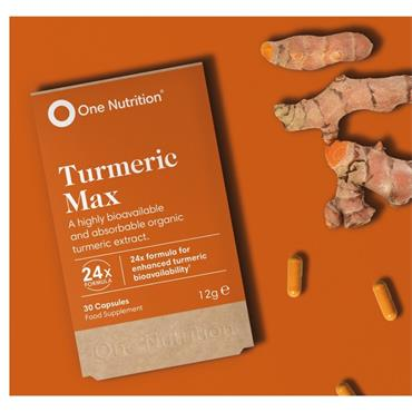 ONE NUTRITION ONE NUTRITION TURMERIC MAX 30 CAPSULES