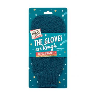 DIRTY WORKS DIRTY WORKS THE GLOVES ARE ROUGH EXFOLIATING MITT