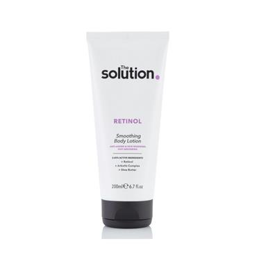 THE SOLUTION THE SOLUTION RETINOL SMOOTHING BODY LOTION 200ML