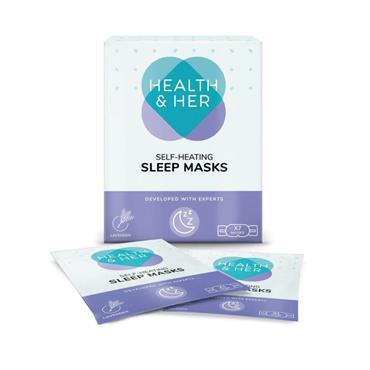 HEALTH & HER HEALTH & HER SELF HEATING SLEEP MASKS