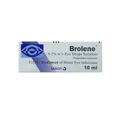 BROLENE BROLENE 0.1% W/V EYE DROPS SOLUTION 10ML