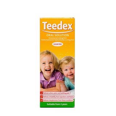 TEEDEX TEEDEX SUGAR FREE ORAL SOLUTION 100ML
