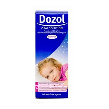 DOZOL DOZOL ORAL SOLUTION SUGAR FREE 100ML
