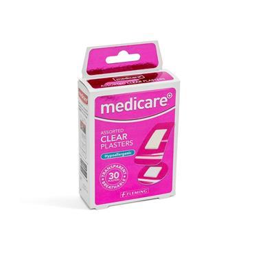 MEDICARE MEDICARE ASSORTED CLEAR PLASTERS