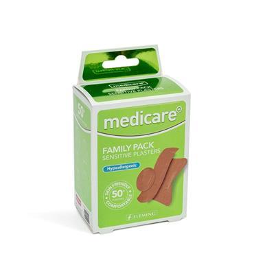 MEDICARE MEDICARE FAMILY PACK SENSITIVE PLASTERS 50 PACK