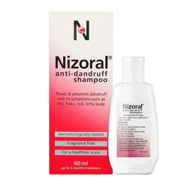 NIZORAL DANDRUFF SHAMPOO 20MG