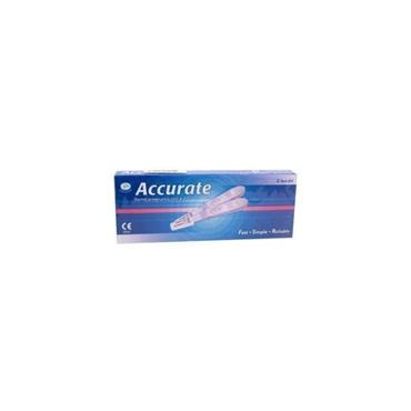 ACCURATE DOUBLE PREGNANCY TEST KIT 2 pack