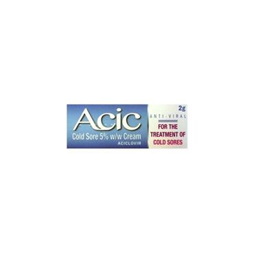 ACIC 5% COLDSORE CREAM 2G