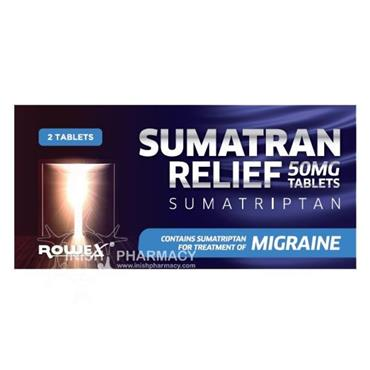 ROWEX ROWEX SUMATRAN RELIEF 50MG TABLETS x2