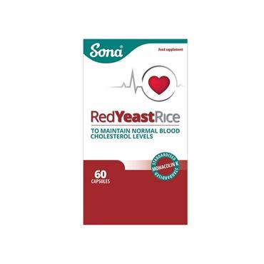 SONA SONA RED YEAST RICE 60 CAPSULES