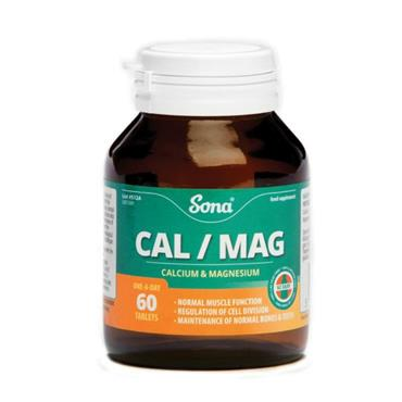 SONA CAL/MAG CALCIUM 500MG / MAGNESIUM 250MG