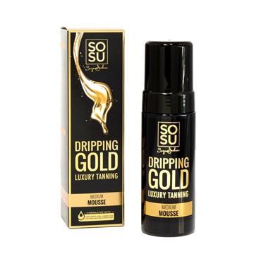 SOSU SOSU DRIPPING GOLD MEDIUM MOUSSE TAN