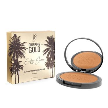 SOSU DRIPPING GOLD ILLUMINATING BRONZER 28G