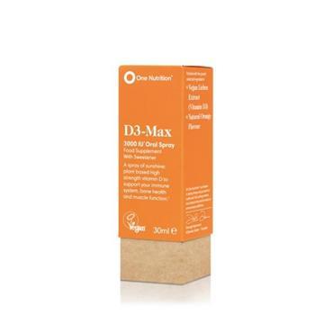 ONE NUTRITION ONE NUTRITION D3- MAX 4000IU ORAL SPRAY