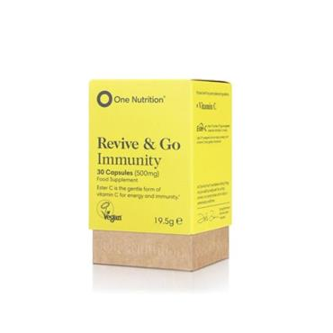 ONE NUTRITION ONE NUTRITION REVIVE & GO IMMUNITY 30 CAPSULES