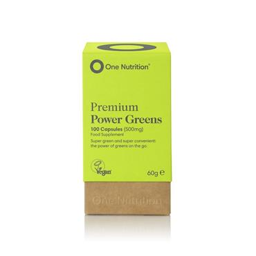 ONE NUTRITION ONE NUTRITION ORGANIC POWER GREENS 100 CAPSULES