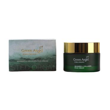 GREEN ANGEL GREEN ANGEL SEAWEED & COLLAGEN FACE CREAM 50ML