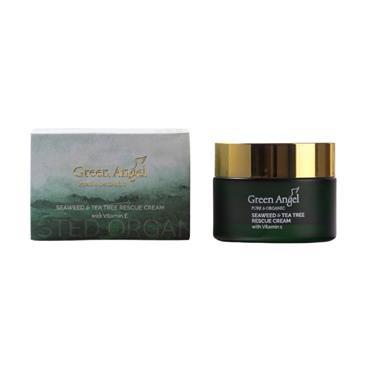 GREEN ANGEL GREEN ANGEL SEAWEED & TEA TREE RESCUE CREAM 50ML