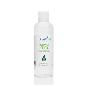 ULTRAPURE ULTRAPURE WITCH HAZEL & ROSE WATER SOOTHING TONER 125ML