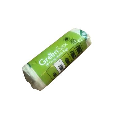 VIVA GREEN GREEN SAX COMPOSTABLE BAGS 13L 10 PACK