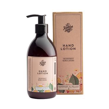 THE HANDMADE SOAP COMPANY THE HANDMADE SOAP COMPANY HAND LOTION GRAPEFRUIT & MAY CHANG 300ML