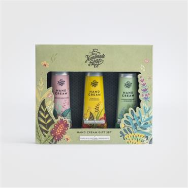 The Handmade Soap Company The Handmade Soap Company Hand Cream Trio Giftset