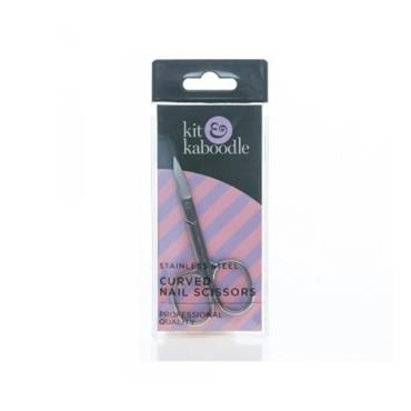 KIT AND KABOODLE KIT AND KABOODLE NAIL SCISSORS CURVED