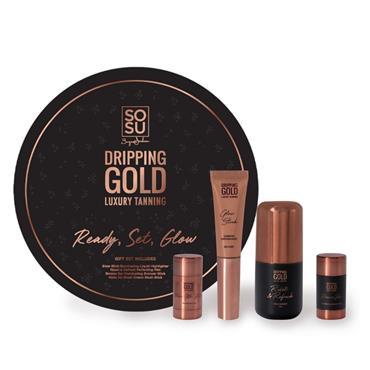 SOSU DRIPPING GOLD READY STEADY GLOW GIFT SET