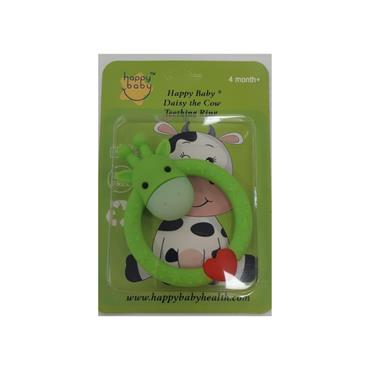 HAPPY BABY HAPPY BABY DAISY THE COW TEETHING RING 4M+