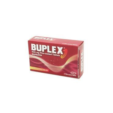 BUPLEX IBUPROFEN TABLETS 400MG 12S