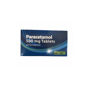 ACTAVIS PARACETAMOL 500MG TABLETS 24S