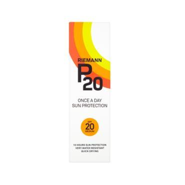 RIEMANN RIEMANN P20 SPF20  MEDIUM SUN PROTECTION LOTION 100ML