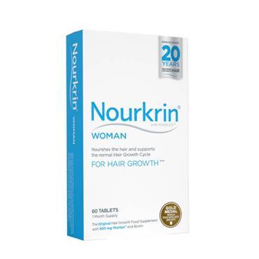 NOURKIN NOURKIN WOMAN HAIR NUTRITION 60 TABLETS