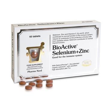 BIOACTIVE SELENIUM+ZINC 60 TABLETS