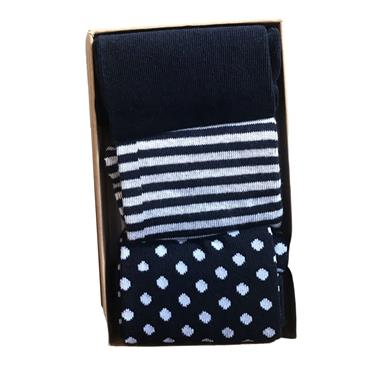 JACK & JONES WINTER SOCKS GIFTBOX NAVY