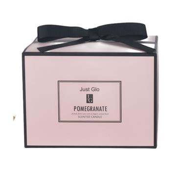 JUST GLO JUST GLO POMEGRANATE SCENTED CANDLE 480G