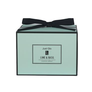 JUST GLO JUST GLO LIME & BASIL SCENTED CANDLE 480G
