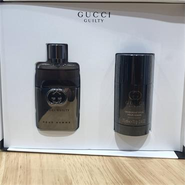 GUCCI GUCCI GUILTY POUR HOMME FRAGRANCE 2PC 50ML GIFT SET