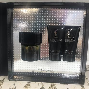 YSL YVES SAINT LAURENT LA NUIT DE L'HOMME 3PC GIFT SET
