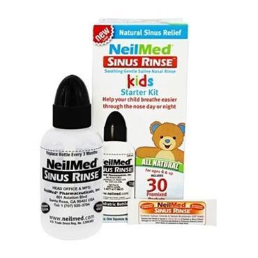 NEILMED NEILMED SINUS RINSE KIDS STARTER KIT 30 PREMIXED PACKETS