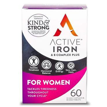 ACTIVE IRON IRON & B COMPLEX WOMEN 60S