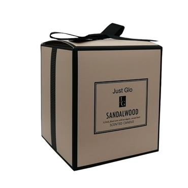 JUST GLO JUST GLO SANDALWOOD SCENTED CANDLE 280G