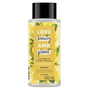 LBP LOVE, BEAUTY & PLANET COCONUT OIL & YLANG YLANG SHAMPOO 400ML