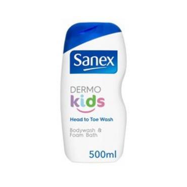 SANEX SANEX DERMO KIDS BODYWASH AND FOAM BATH 500ML