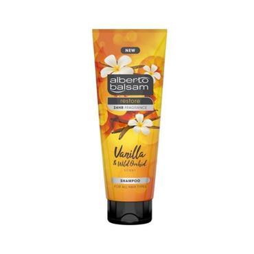 Alberto Balsam Alberto Balsam Restore Vanilla & Wild Orchid Shampoo 250ml