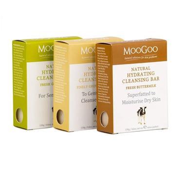 MOOGOO MOOGOO NATURAL FRESH MILK CLEANSING BAR BUTTERMILK & COCOA BUTTER 130G